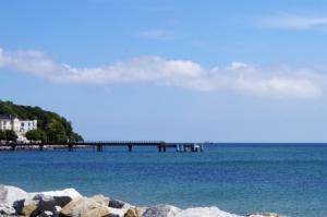 Die Seebrücke ist auch an Ostern perfekt für Spaziergänge